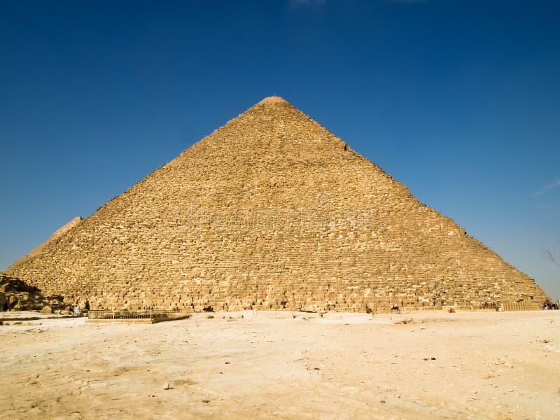 Grote Piramide van Khufu stock fotografie