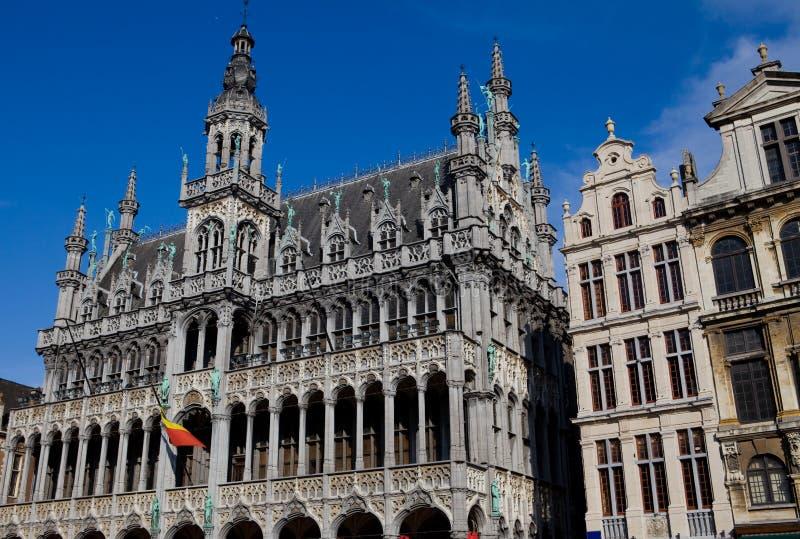 Grote Plaats in Brussel stock fotografie