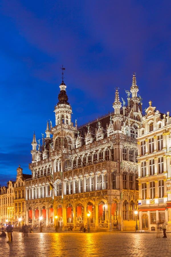 Grote Plaats in Brussel België royalty-vrije stock afbeelding