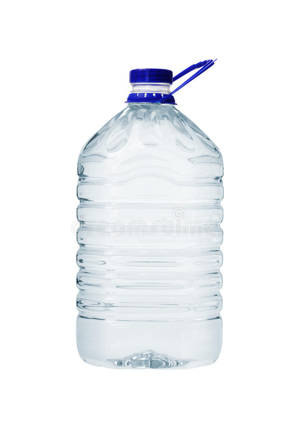 Grote Plastic Container Water stock foto's