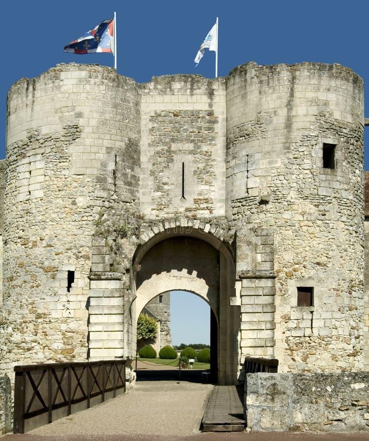 Grote pressigny van Chateau   stock afbeeldingen