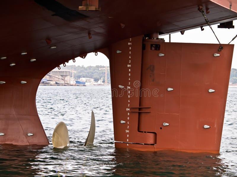 Grote propeller royalty-vrije stock afbeeldingen