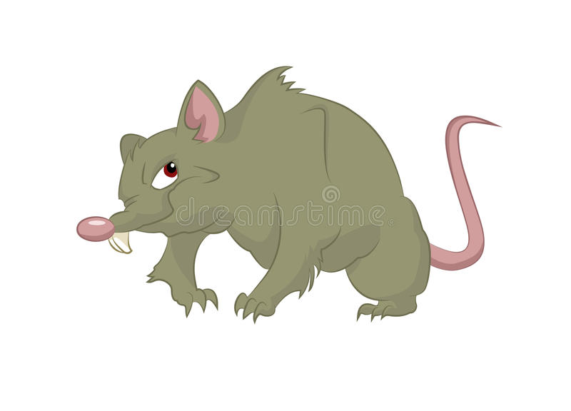 Grote rat royalty-vrije illustratie
