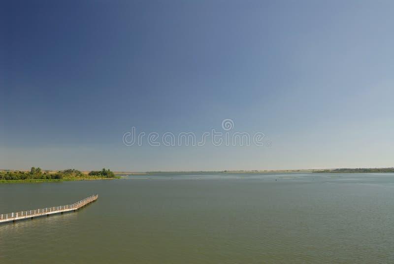 Grote rivier stock fotografie