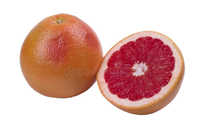 Grote Rode Grapefruit royalty-vrije stock afbeeldingen