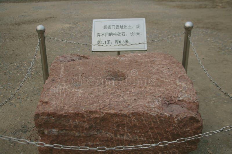 Grote ruïnes van Luoyang royalty-vrije stock fotografie