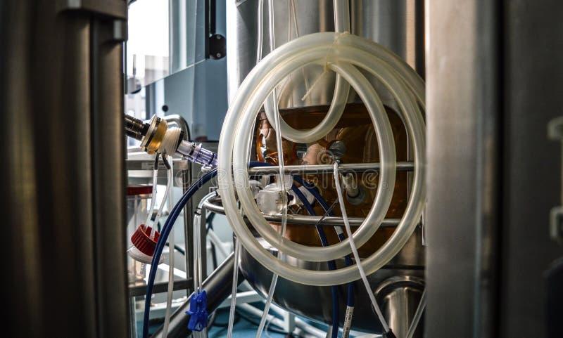 Grote schaalbioreactor royalty-vrije stock foto