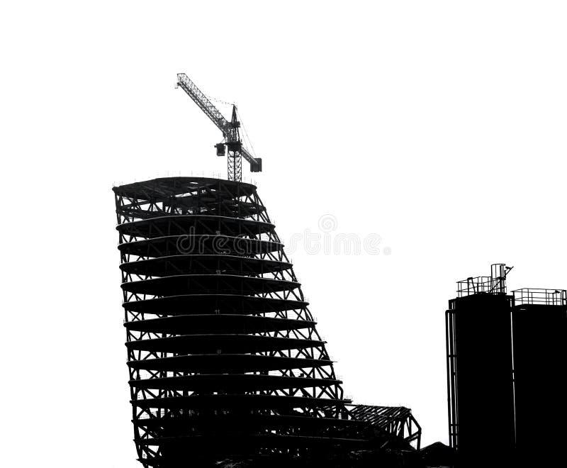 Grote Schaalbouw in Overzicht stock fotografie