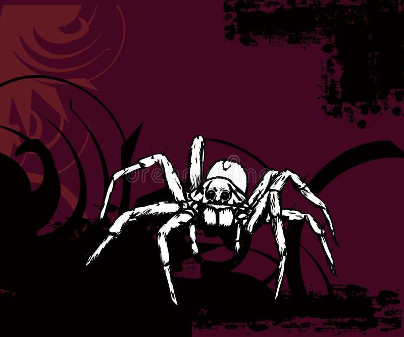 Grote Spin royalty-vrije illustratie