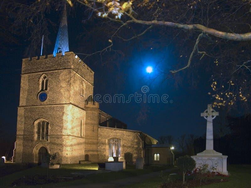 Grote St Mary ` s Kerk in Sawbridgeworth royalty-vrije stock foto