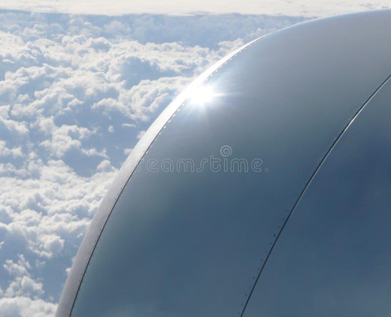 Grote straalmotor royalty-vrije stock foto's