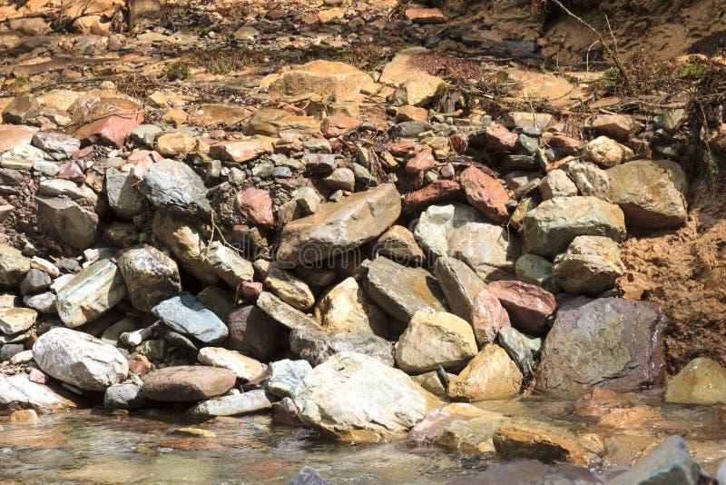 Grote stroom van de rivier stock afbeelding
