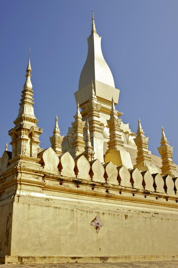 Grote Stupa in Vientiane Laos royalty-vrije stock afbeeldingen