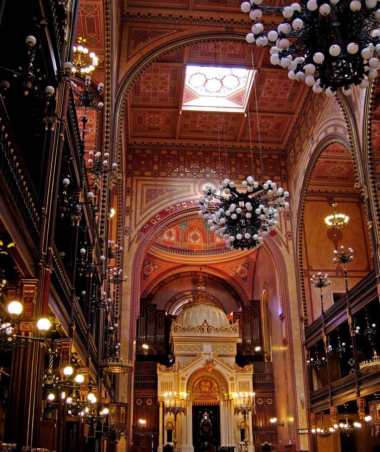 Grote Synagoge stock fotografie