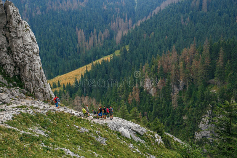 Grote Tatry in Polen en Slowakije royalty-vrije stock foto