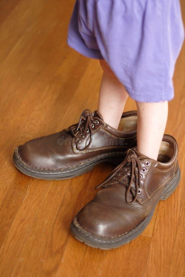 Grote Te vullen Schoenen stock afbeeldingen