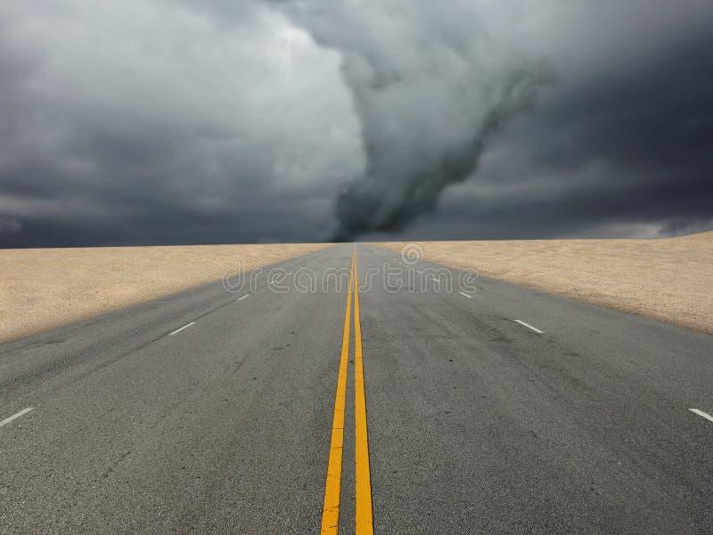 Grote tornado royalty-vrije stock foto