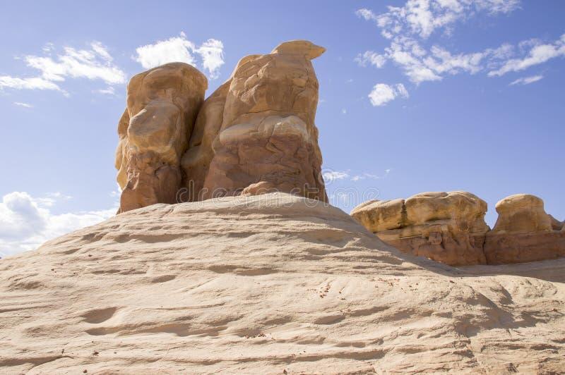 Grote Trap Escalante - Utah - de V.S. royalty-vrije stock afbeeldingen