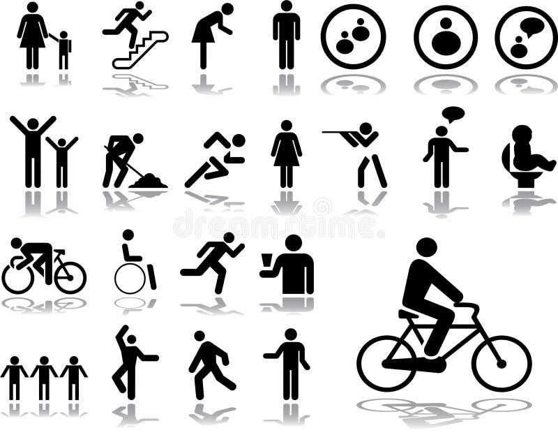Grote vastgestelde pictogrammen - 3. Mensen