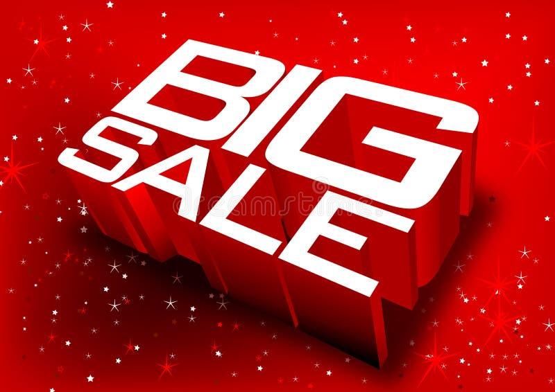Grote verkoop stock illustratie