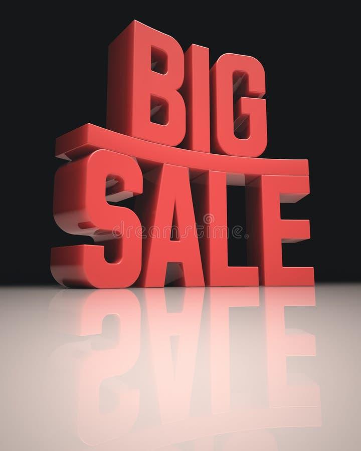 Grote verkoop vector illustratie