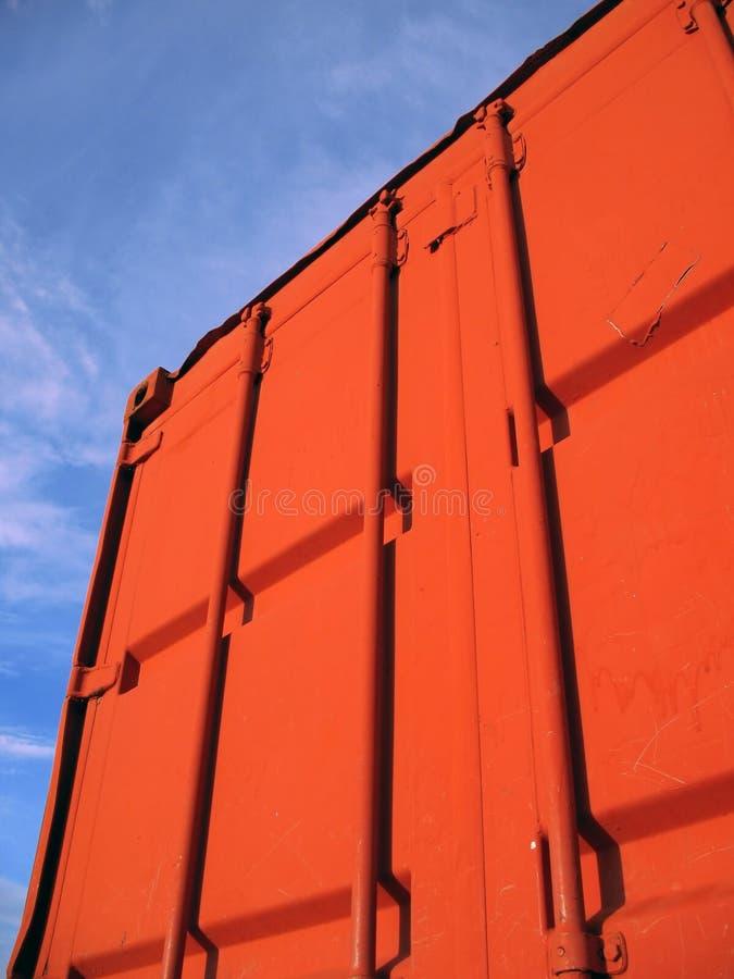 Grote Verschepende Container stock foto's