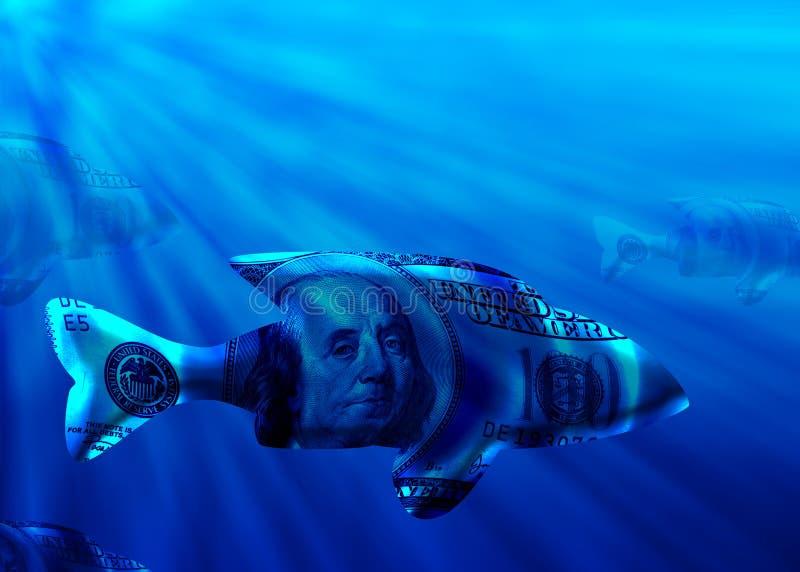 Grote Vissen royalty-vrije illustratie