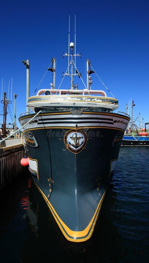 Grote Vissersboot royalty-vrije stock afbeelding