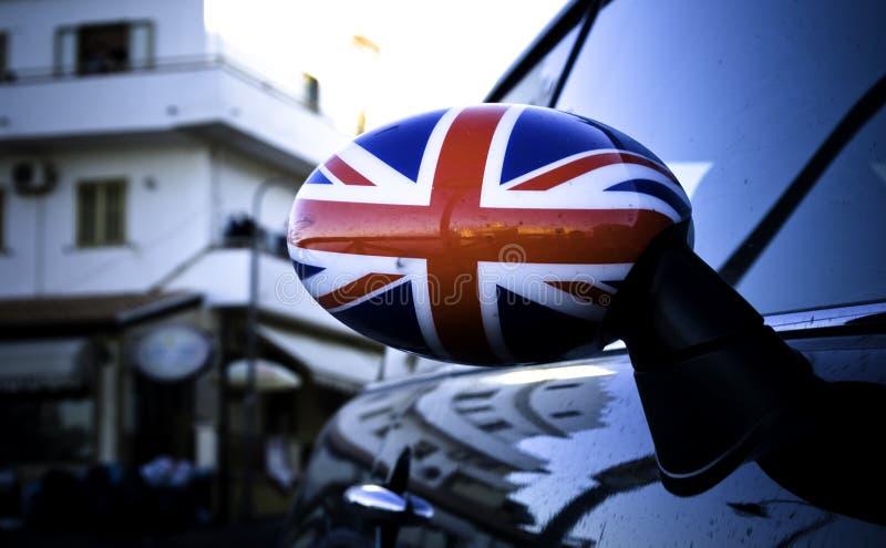 Grote vlag Britan stock fotografie