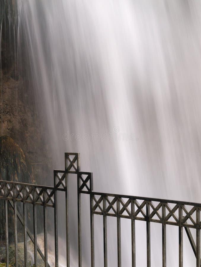 Grote waterval bij Edessa-dalingen van Griekenland royalty-vrije stock foto