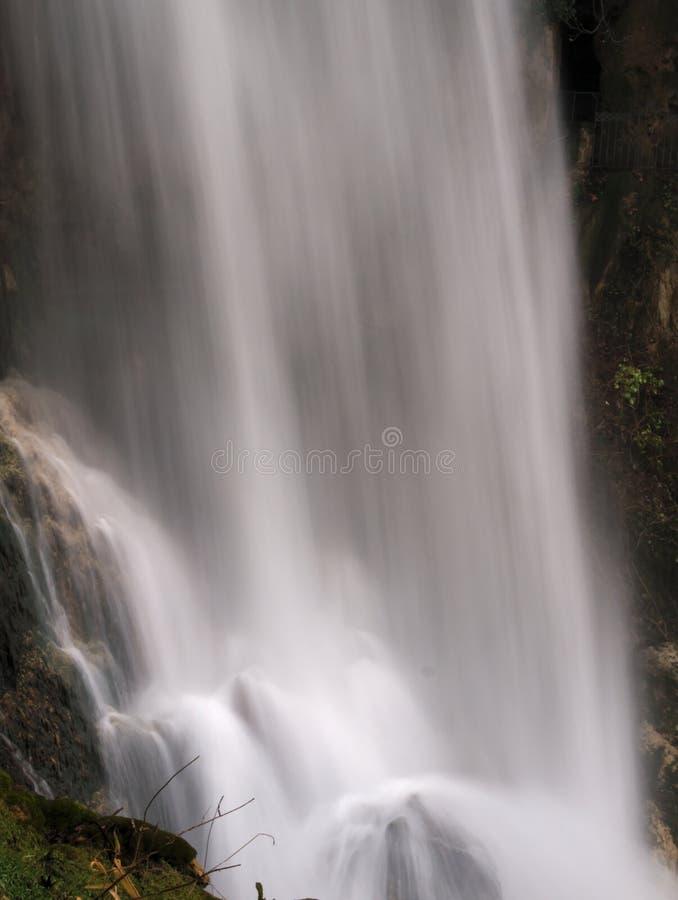 Grote waterval bij Edessa-dalingen van Griekenland royalty-vrije stock fotografie