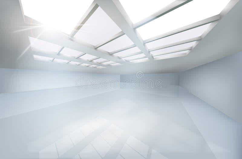 Grote zaal Vector illustratie stock illustratie