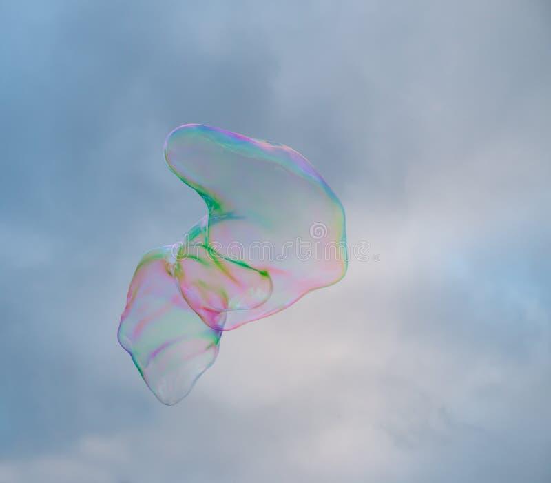Grote zeepbel stock foto