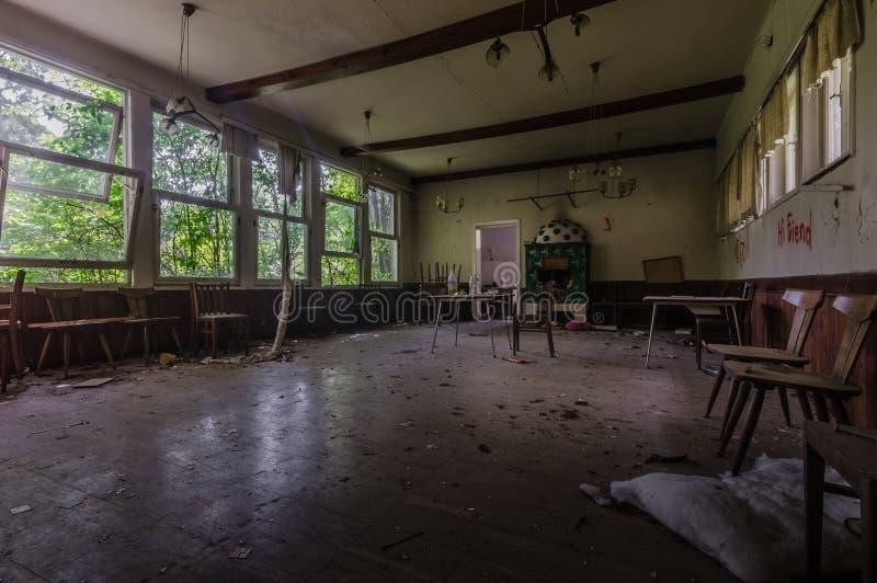 grote zitkamer in een huis royalty-vrije stock foto's