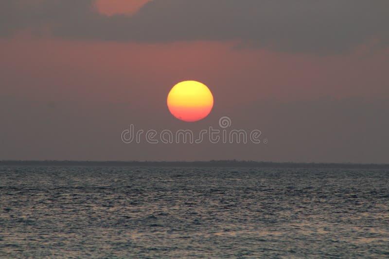 Grote Zon de Caraïben stock fotografie