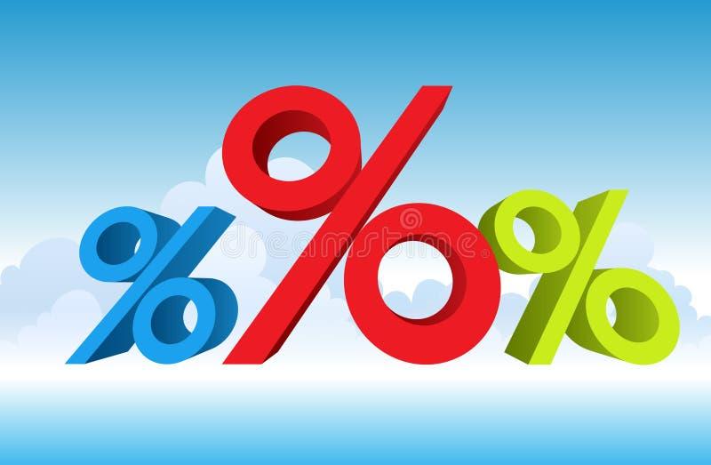 Groter Aandeel stock illustratie