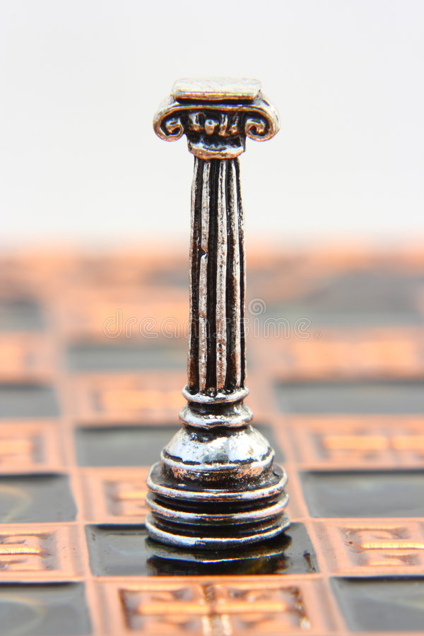 groteskt schack royaltyfri foto