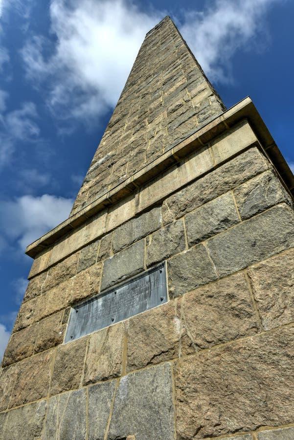Groton-Monument - Connecticut stockbild