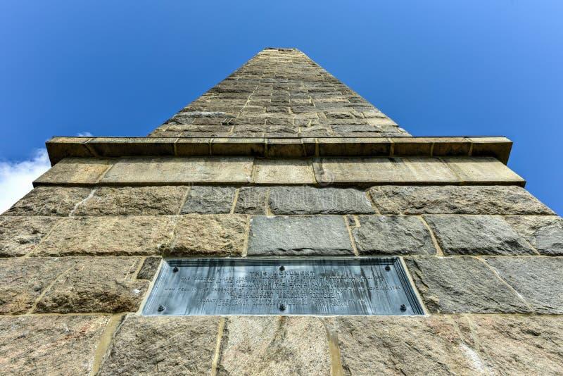Groton-Monument - Connecticut lizenzfreies stockfoto