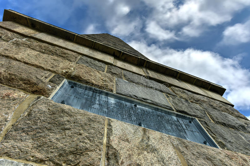 Groton-Monument - Connecticut stockfoto