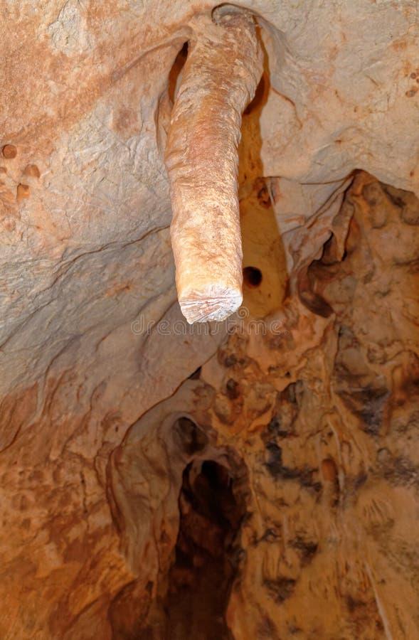 Grotta del Fico - Σαρδηνία, Ιταλία στοκ φωτογραφία με δικαίωμα ελεύθερης χρήσης