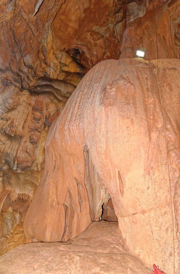 Grotta del Fico - Σαρδηνία, Ιταλία στοκ εικόνα με δικαίωμα ελεύθερης χρήσης