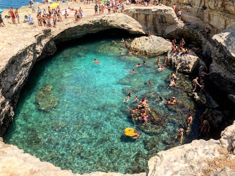 Grotta Della Poesia photographie stock