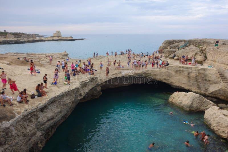 Grotta Della Poesia photos libres de droits