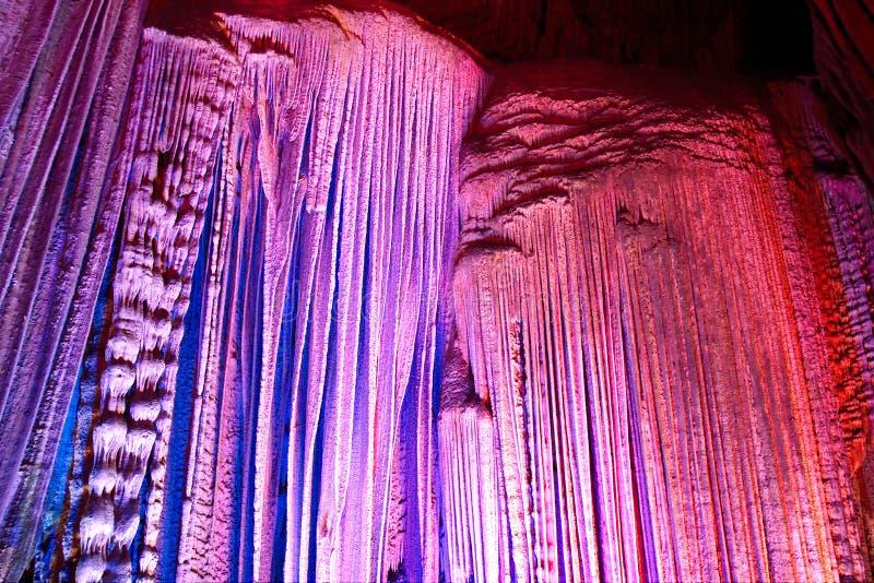 Grotta della stalattite fotografia stock libera da diritti