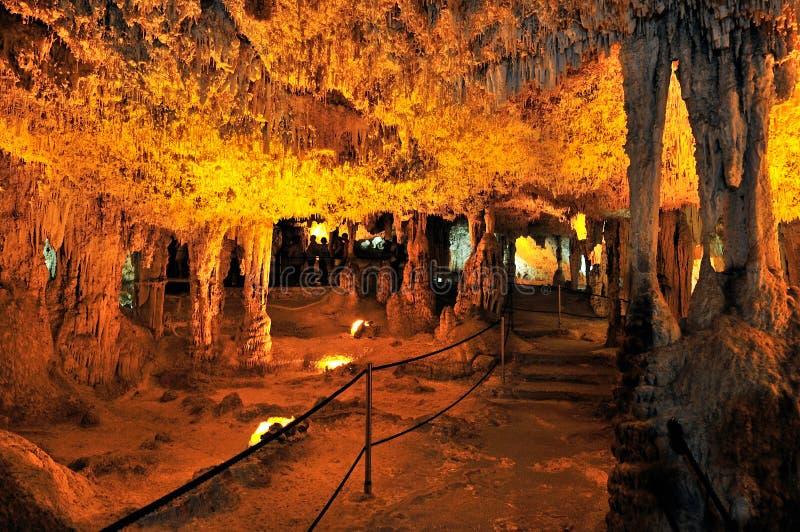Grotta di Nettuno, Sardaigne, Italie photographie stock libre de droits