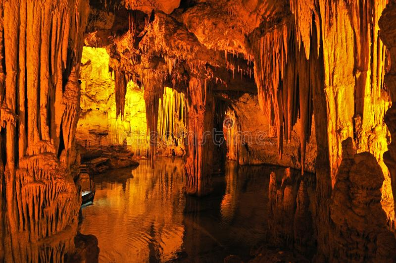 Grotta di Nettuno, Sardinia, Italy royalty free stock photos