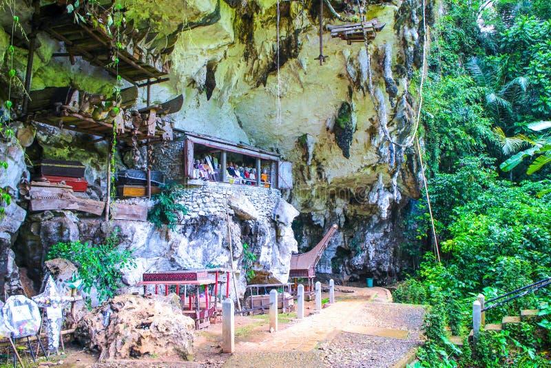 Grotta för döden royaltyfria foton