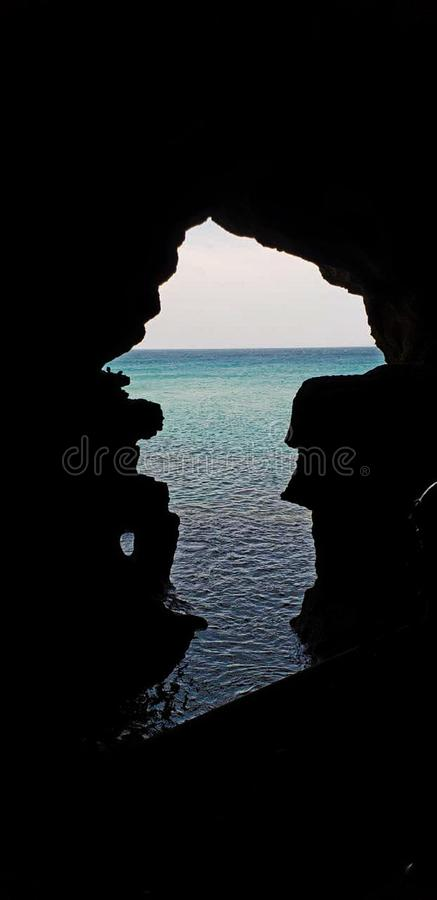 grotta hercules arkivbilder