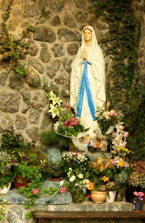 Grotte de Vierge Marie photographie stock libre de droits